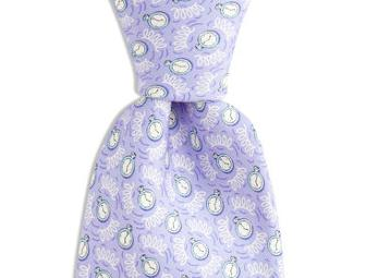 Vineyard Vines Spring Time Silk Tie