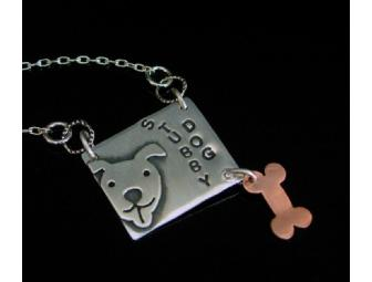 Collector's Piece - Stubby Dog Necklace