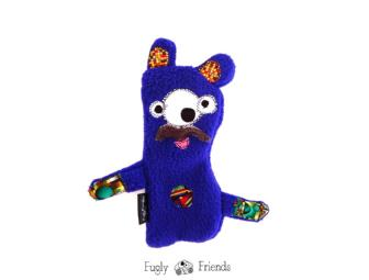 Mr. Shoop -  My Fugly Friend  Handmade Toy - stuffing free