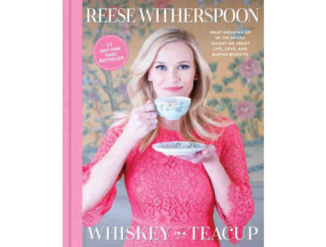Signed copy of Reese Witherspoon Book