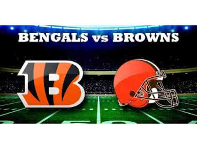 Cincinnati Bengals vs. Cleveland Browns for Two with Parking - Photo 1
