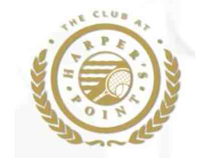 The Club at Harper's Point One Hour Private Tennis Lesson and T-shirt