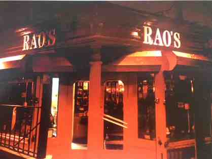 A Special Experience! Rao's New York City - The Toughest Reservation in Town!