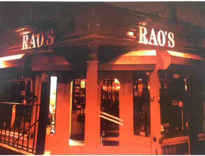A Special Experience! Rao's New York City - The Toughest Reservation in Town! - Photo 1