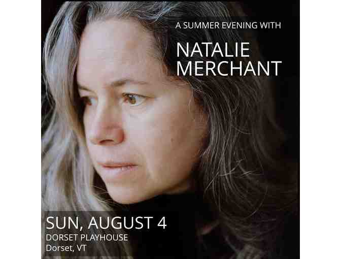A (Sold-Out!) Evening with Natalie Merchant - Photo 1