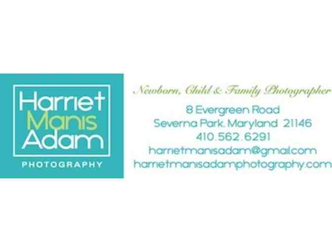 One Hour Outdoor Portrait Session and 5 x 7 print with Harriet Manis Adam Photography