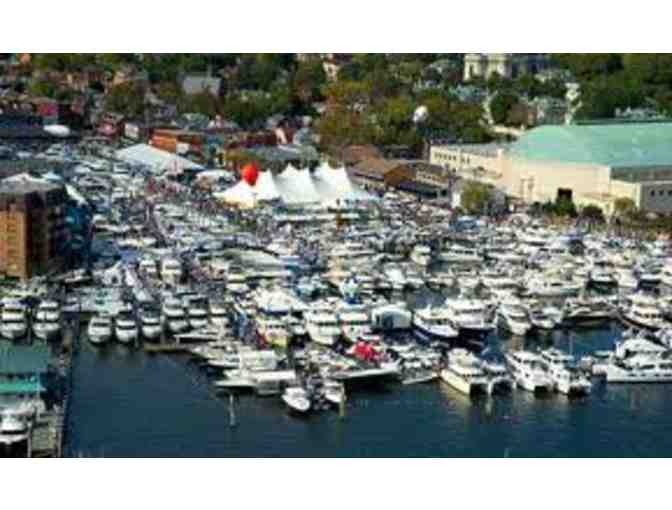2 tickets to the 2019 US Powerboat Show
