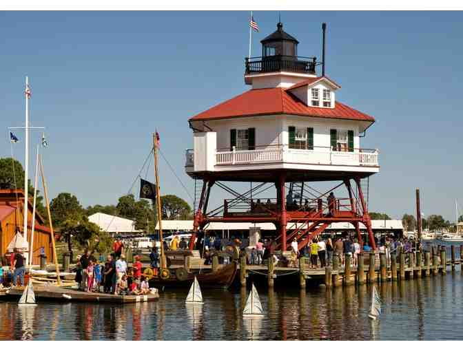 Four (4) passes to Calvert Marine Museum and four (4) river cruise passes
