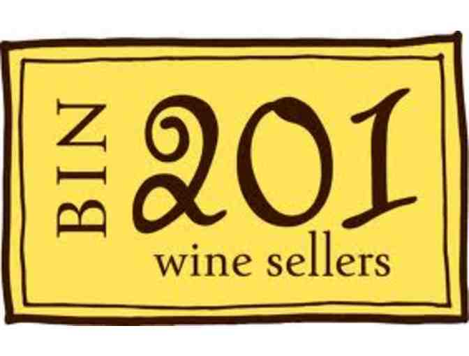 Thursday Night Wine tasting for four (4) at Bin 201 Wine Sellers