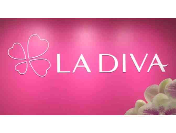 Diva Romantic Pedicure at La Diva Nail Spa