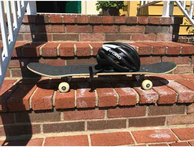 Revive Skateboard and Youth Helmet