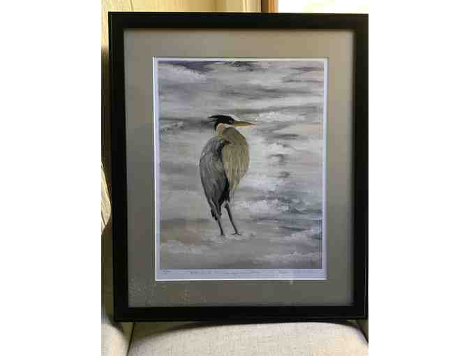 Heron on The Chesapeake Bay Print