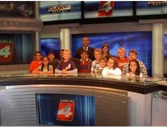 WDIV Station Tour with Meteorologist Andrew Humphrey