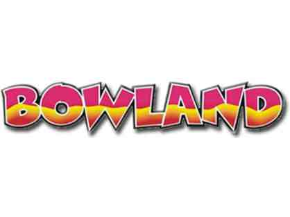 Bowland Family Fun Deal- One Hour Free Bowling for up to 4 people
