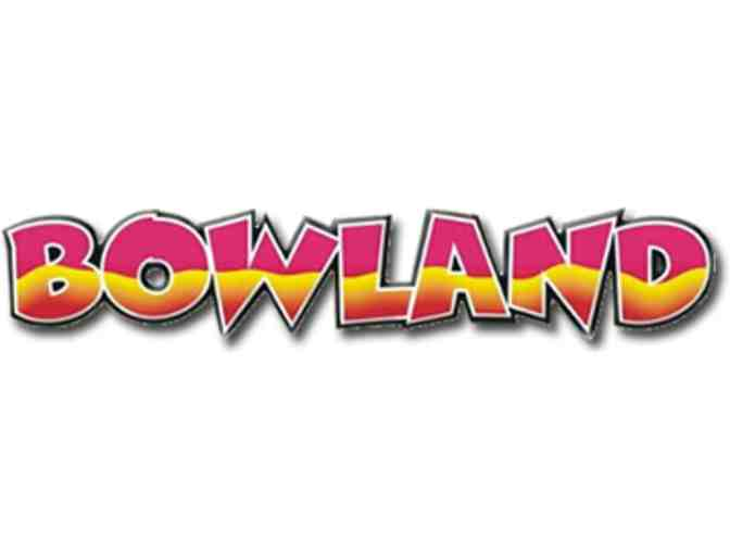 Bowland Family Fun Deal- 1 hour free bowling for 4 - Photo 1