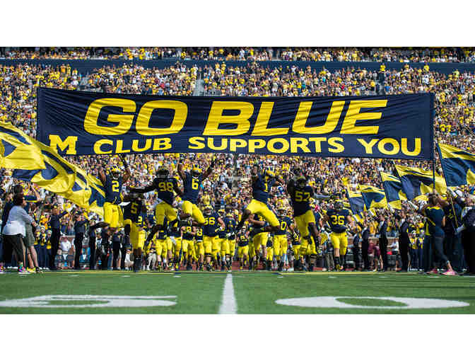 2 Tickets to 11-17-18 University of Michigan Football Game vs Indiana -50 Yard Line - Photo 1