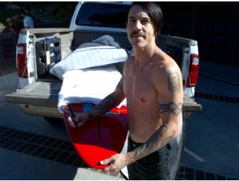Art Board Signed and Designed by Anthony Kiedis
