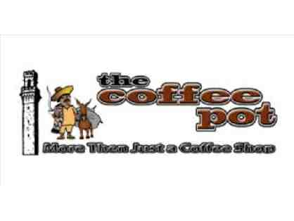The Coffee Pot  Gift Certificate