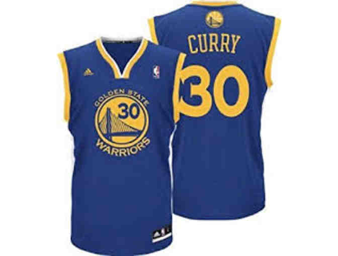 Stephen Curry Signed  Jersey (This is not actual item photo)
