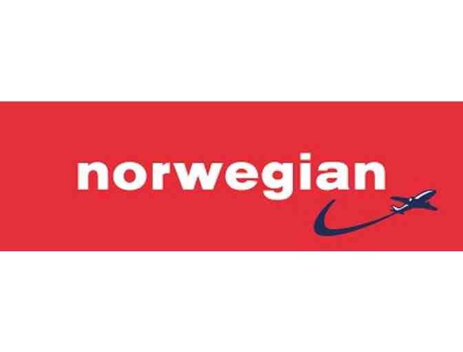 Norwegian roundtrip for two from Oakland anywhere Norwegian flys non-stop. Premium Cabin!