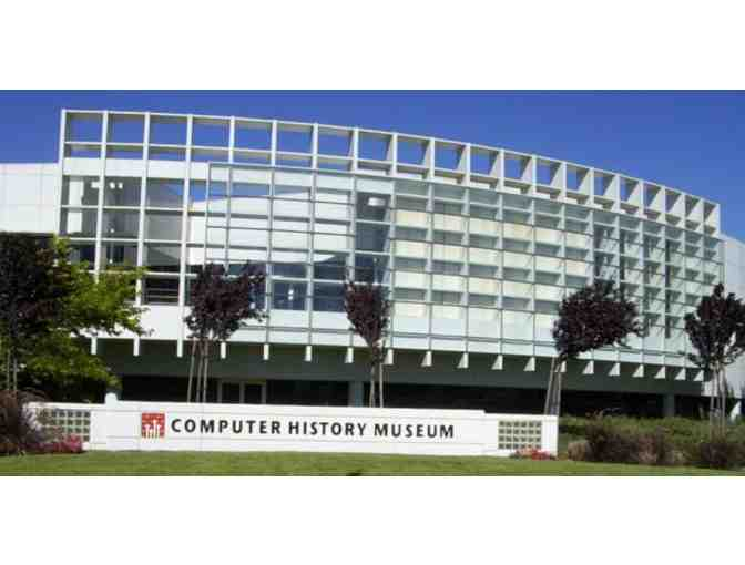 4 General Admission Passes to the Computer History Museum - Photo 1