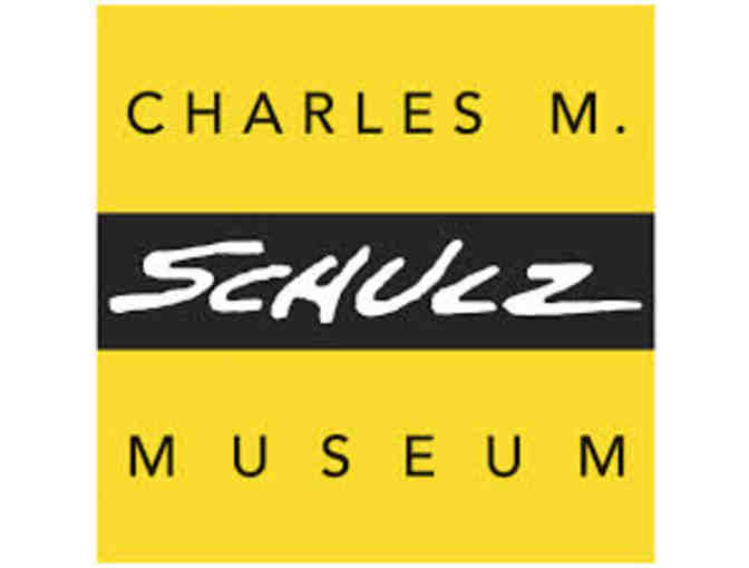 Admission tickets for Charles M. Schulz Museum and Research Center