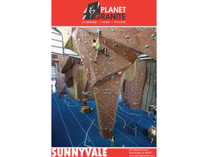 2 Beginner Belay Lessons at Planet Granite