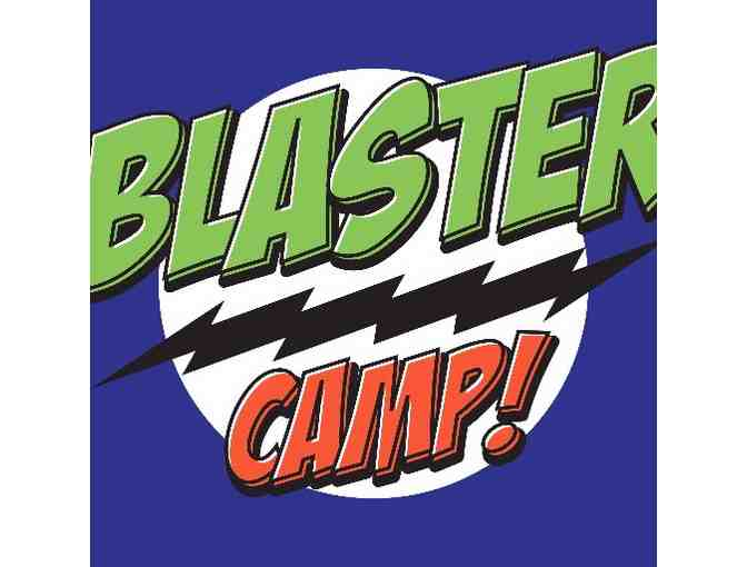 One Weekly Summer Camp Session at Blaster Camp