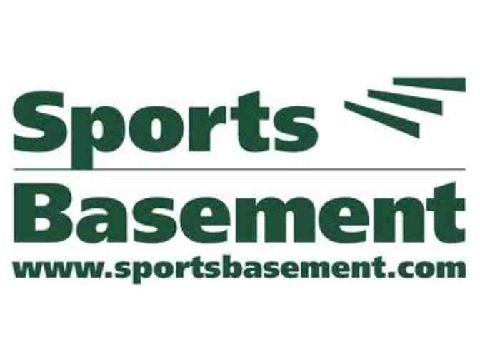 $125  Sports Basement Gift Certificate