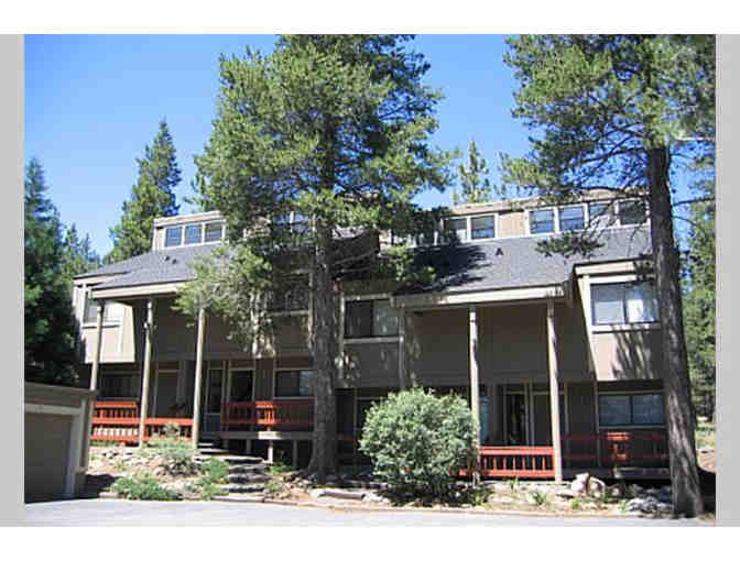 4 Nights at Lake Tahoe Condo (Tahoe Donner)