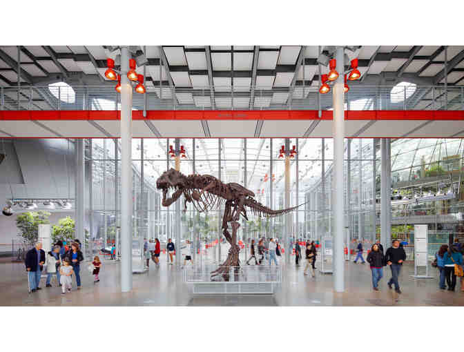 California Academy of Sciences Two General Admission Tickets