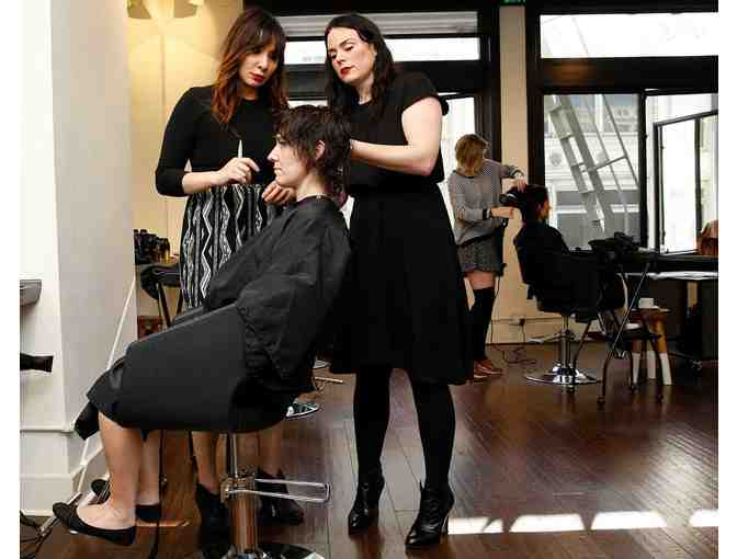 Haircut with Michelle Snyder at Barrow Salon