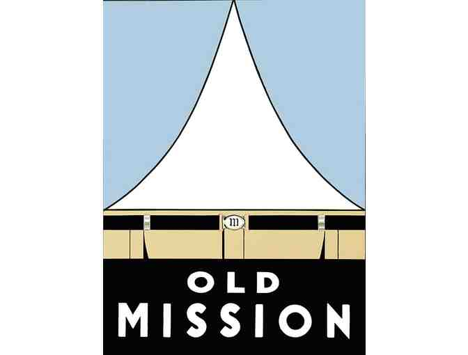 Old Mission Framed Graphic Print by Alberto Ybarra