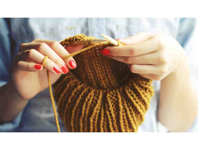 Private Knitting Lesson with Maggie Jones