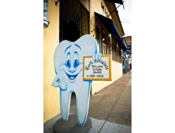 Professional Teeth Whitening at Mission Terrace Dental