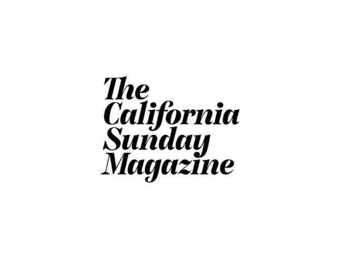 One Year Subscription to The California Sunday Magazine