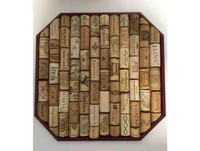 Set of Homemade Wine Cork Trivets