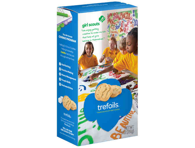 Trefoil Girl Scout Cookies