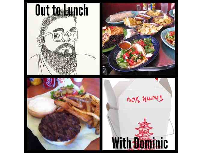 Go out to Lunch with Dominic