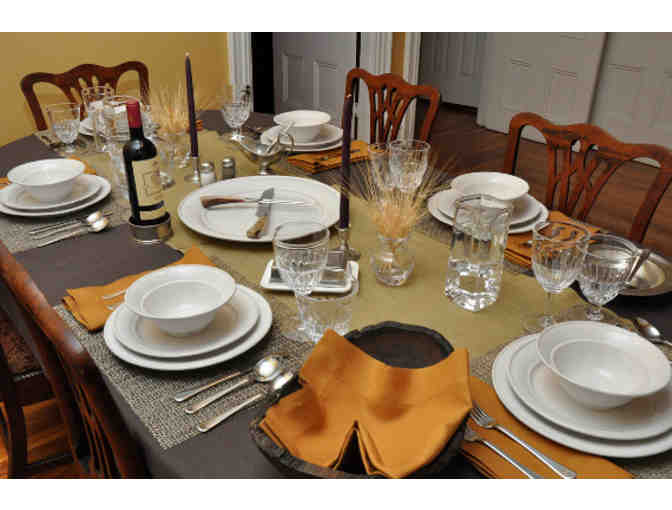 Shabbat Dinner for Two Families