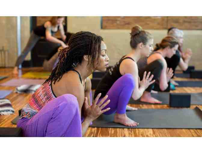 One Month Unlimited Yoga at Mission Yoga