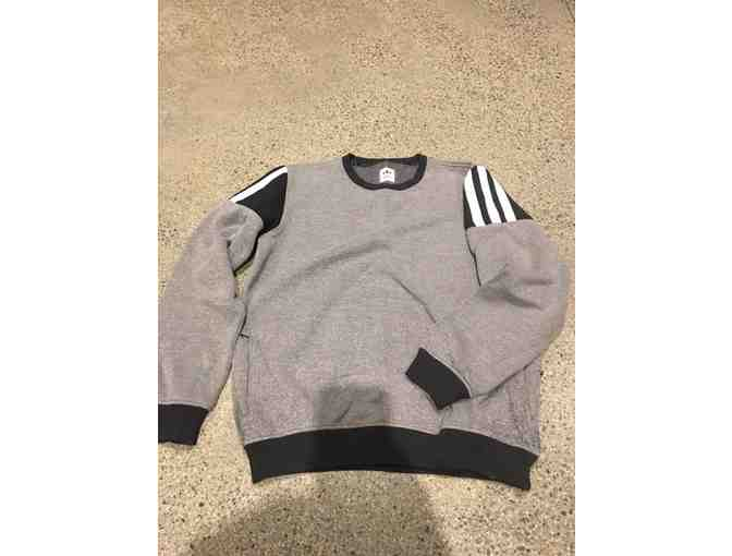 Adidas Men's Hardies Sweatshirt Grey Size M