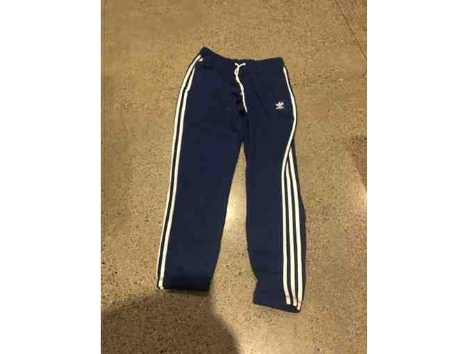 Adidas Men Track Pants Size M Blue