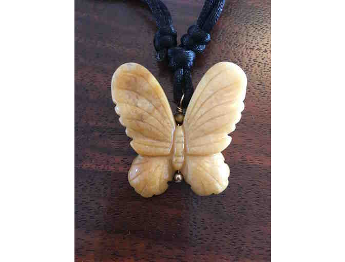 Serpentine Butterfly Necklace