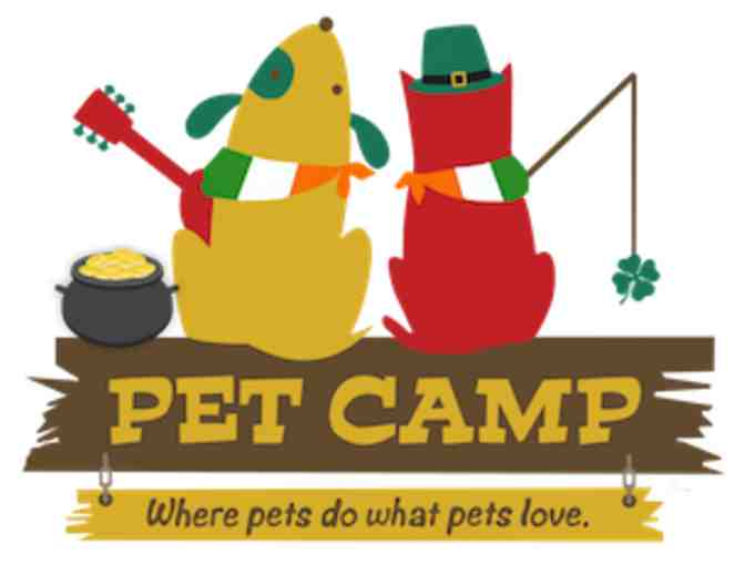 Pet Camp Camping Weekend