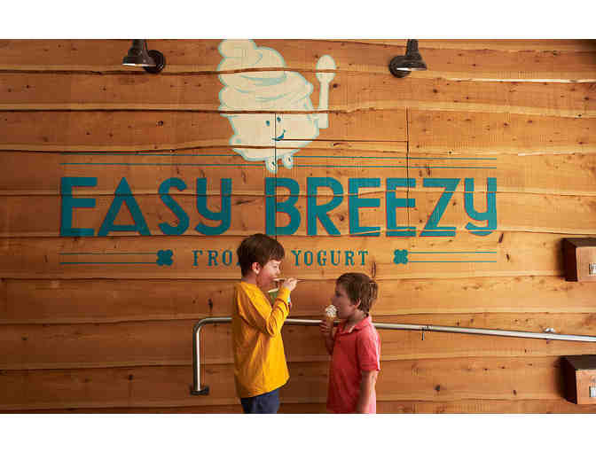 $15 Gift Card to Easy Breezy Frozen Yogurt - Photo 1