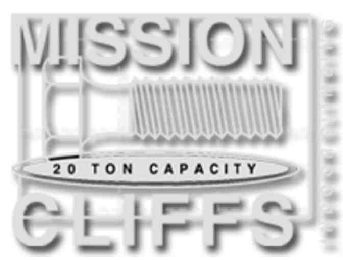 Mission Cliffs: 2 free Climbing Classes or Day Passes