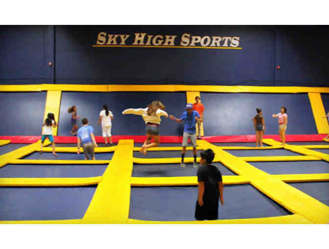 Jump Sky High Sports 6 One hour Gift Certificates