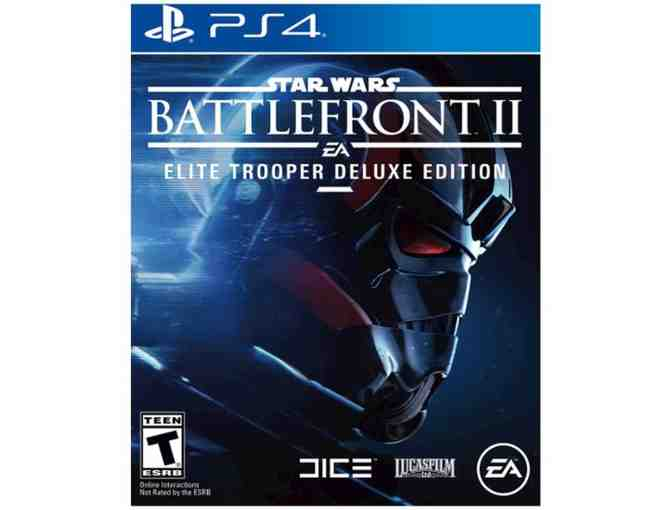Star Wars Battlefront II: Elite Trooper Deluxe Edition video game for PS4