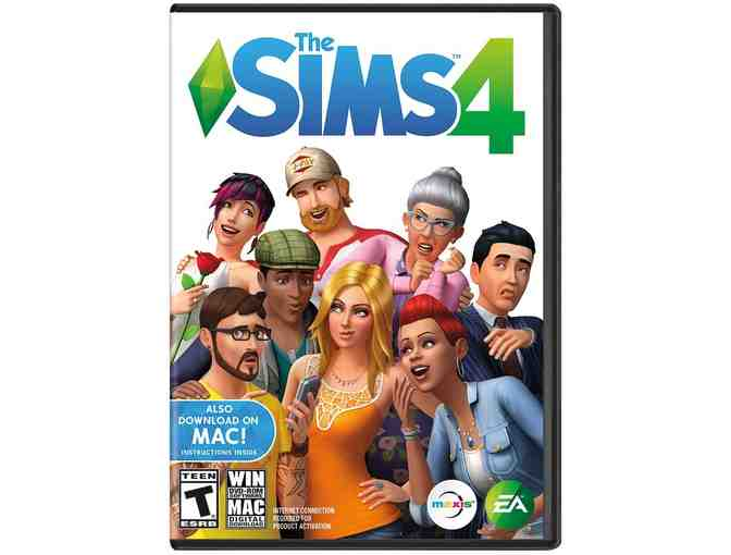 The Sims4 and The Sims4 Get Together video game bundle for PC or MAC